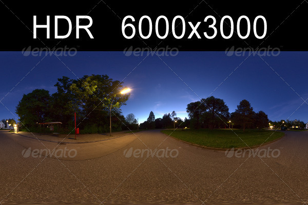 Night HDR Environment - 3DOcean Item for Sale