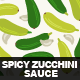 Spicy Zucchini Sauce - GraphicRiver Item for Sale