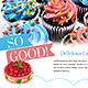 Cake / Bakery Flyer or Magazine Ad - GraphicRiver Item for Sale