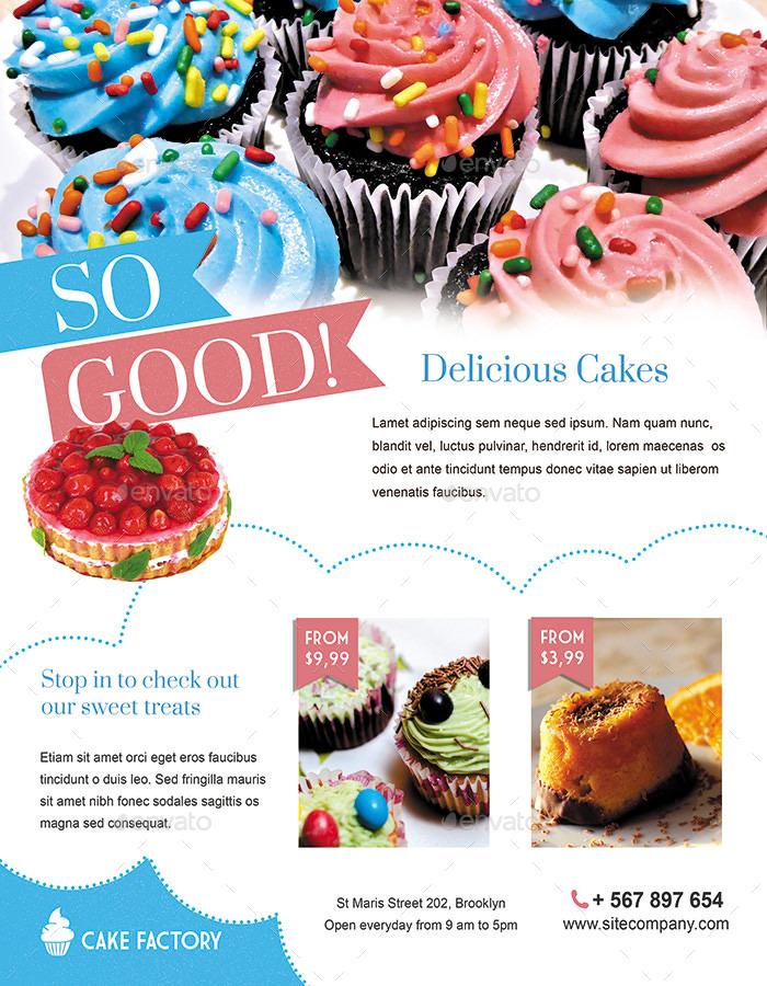 cake bakery flyer people davidjoel co