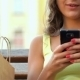She Photographs Her Friend On The Phone - VideoHive Item for Sale