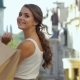 Beautiful Girls Walk Down The Street  - VideoHive Item for Sale