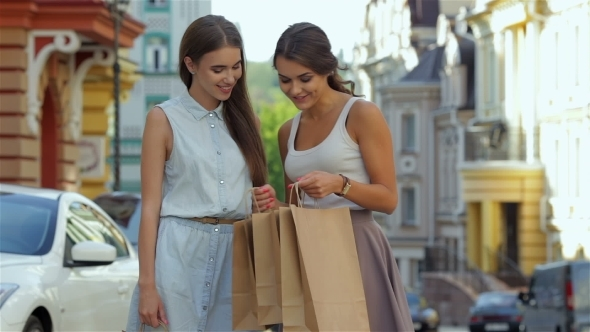 Charming Girls Are Considering New Purchases