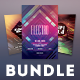 Geometric Flyer Bundle Vol.06 - GraphicRiver Item for Sale