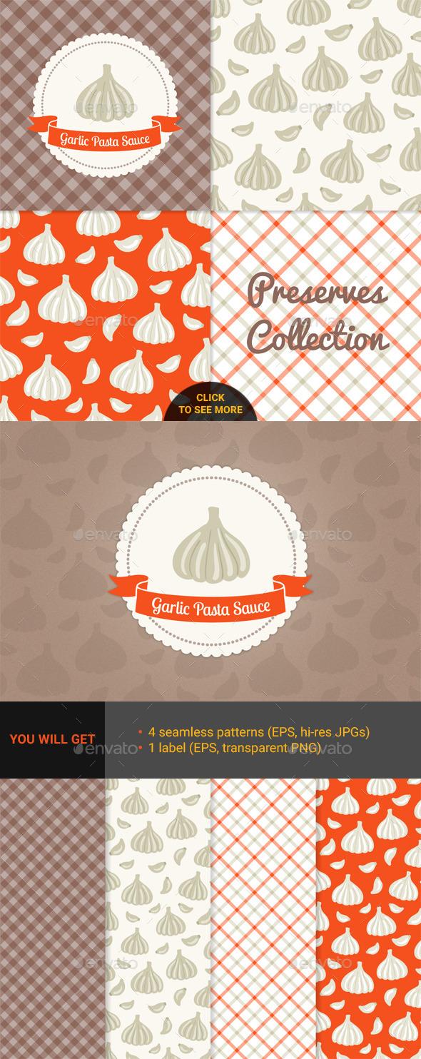 Garlic Pasta Sauce - Food Objects