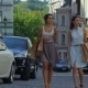 Girls Holding Shopping Bags And Walk - VideoHive Item for Sale