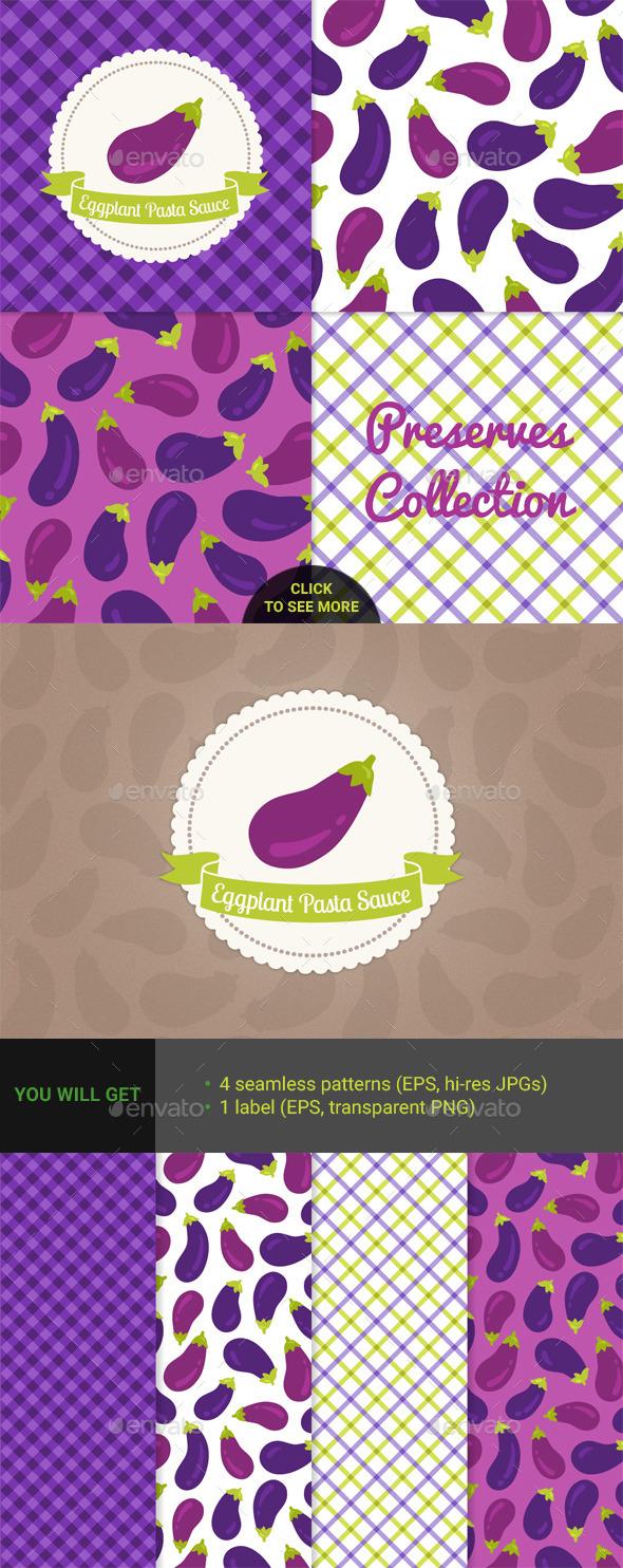 Eggplant Pasta Sauce - Food Objects