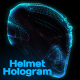 Helmet Hologram - VideoHive Item for Sale