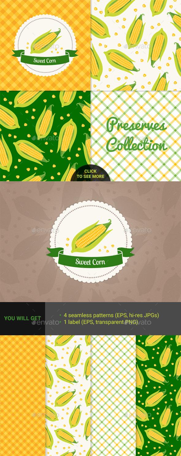 Sweet Corn - Food Objects