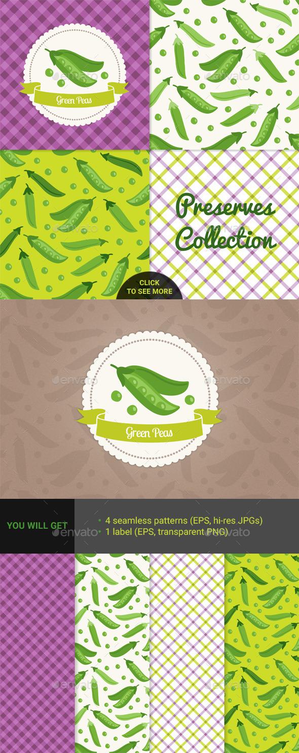 Green Peas - Food Objects