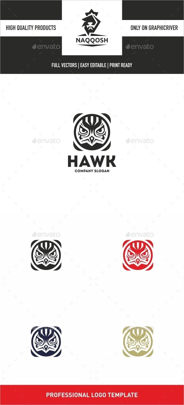 Hawk - Animals Logo Templates