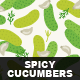Spicy Cucumbers - GraphicRiver Item for Sale
