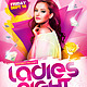 Ladies Night Flyer - GraphicRiver Item for Sale