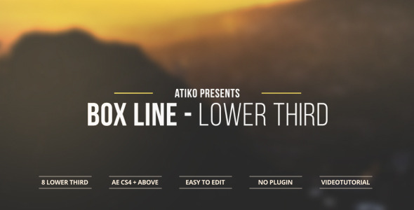 Box Line Lower Third
