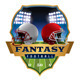 American Fantasy Football Emblem Illustration - GraphicRiver Item for Sale