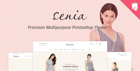 Image of SNS Senia - Responsive Prestashop Theme