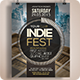 Indie Fest Flyer | Poster - GraphicRiver Item for Sale