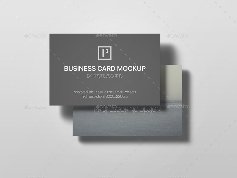 85x55 business card mock up vol 2 by professorinc graphicriver screenshots 2psd 001 02g reheart Gallery