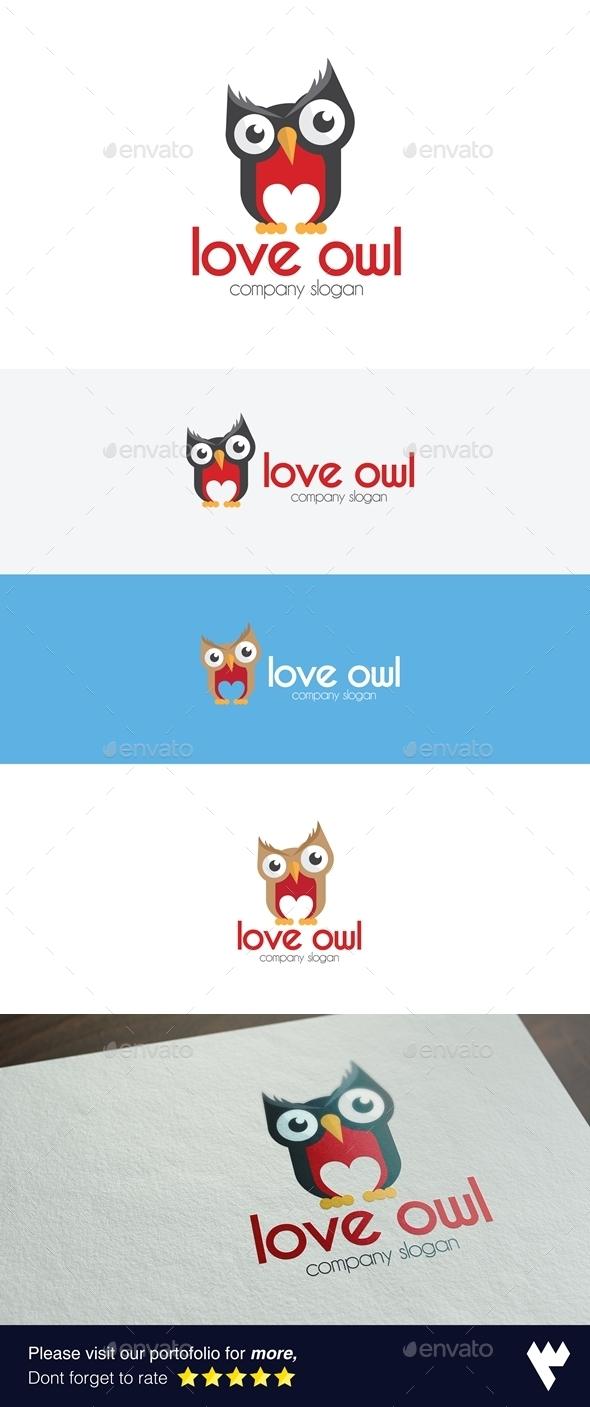 Love Owl Logo