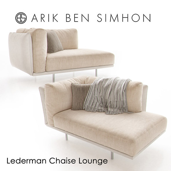 Lederman Chaise by Arik Ben Simhon