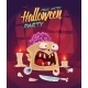 Horror Set. Halloween Poster Background Card - GraphicRiver Item for Sale