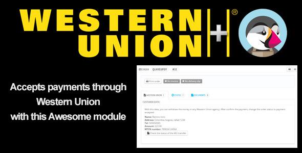 WesternUnion& PrestaShop Module