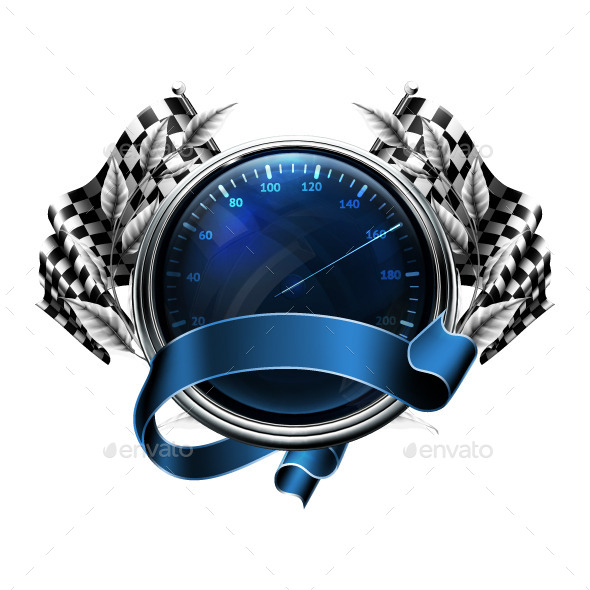 Car Speedometer  - Vectors
