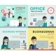 New Job Search And Stress Work Infographic - GraphicRiver Item for Sale