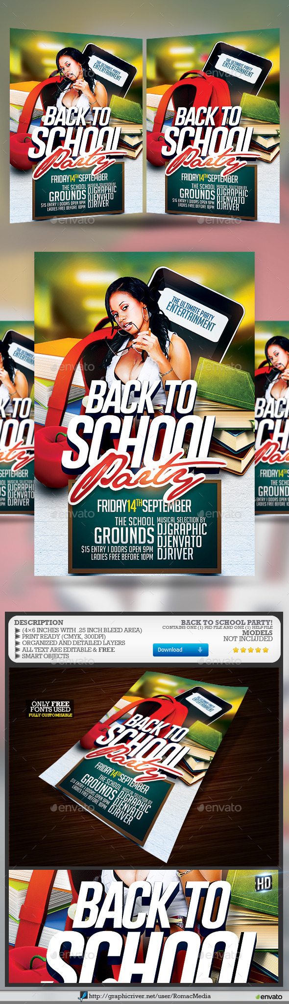 Back to School Party - Clubs & Parties Events