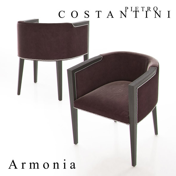 Constantini Pietro Armonia Armchair - 3DOcean Item for Sale