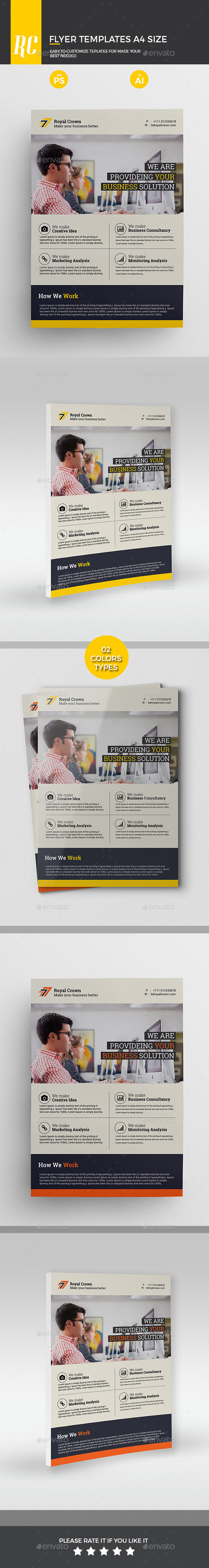 Corporate Flyers - Flyers Print Templates