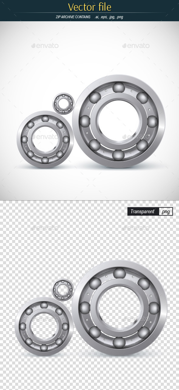 Ball Bearings - Man-made Objects Objects