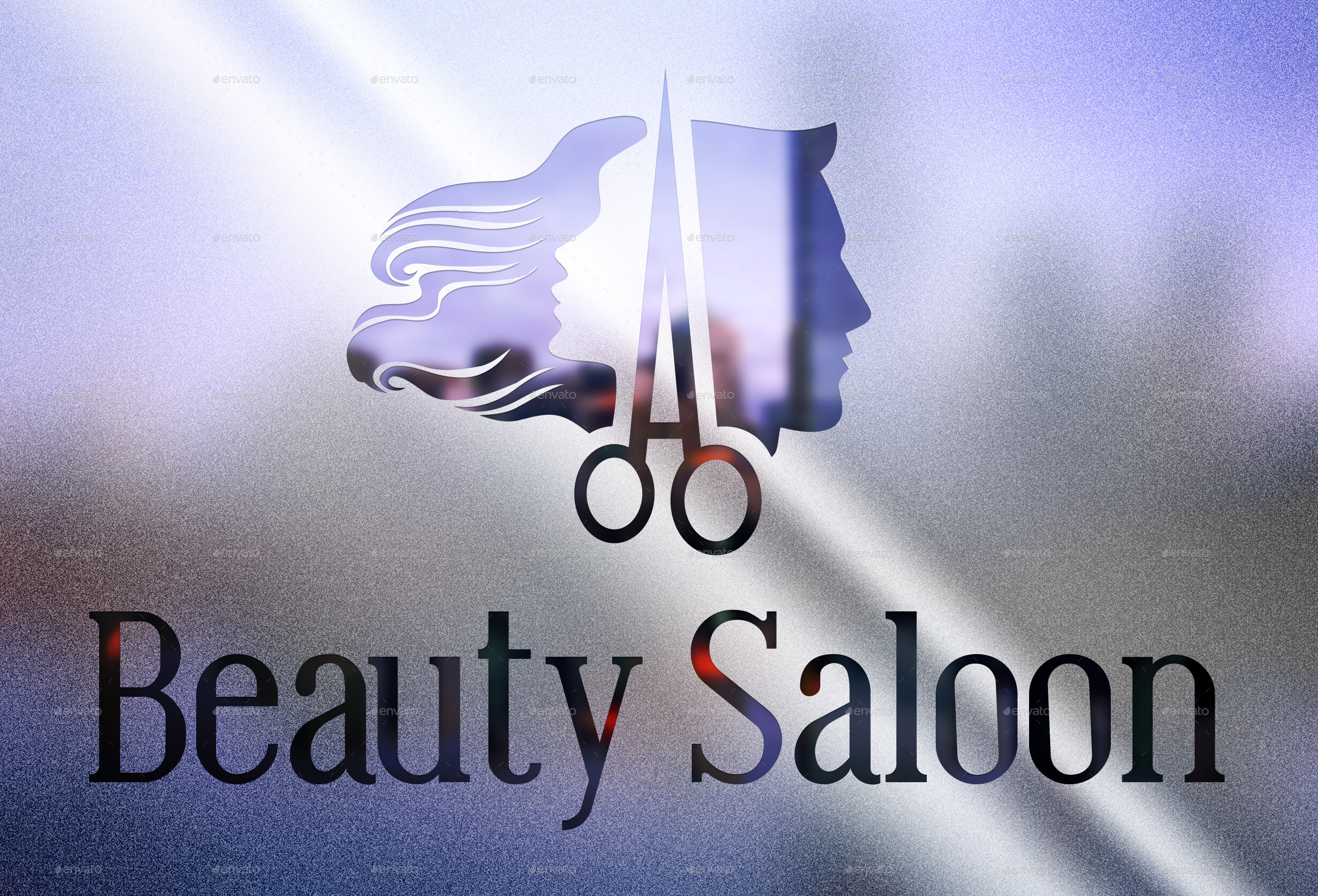 Hair Saloon Ladies Gents By Websdecor Graphicriver