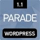 Parade - WordPress Blogging Theme Nulled