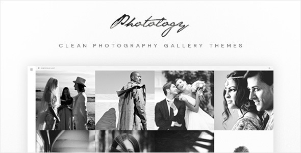 Photology – Clean Photography Gallery Themes