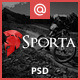 Sporta - Extreme Sports PSD Template - ThemeForest Item for Sale