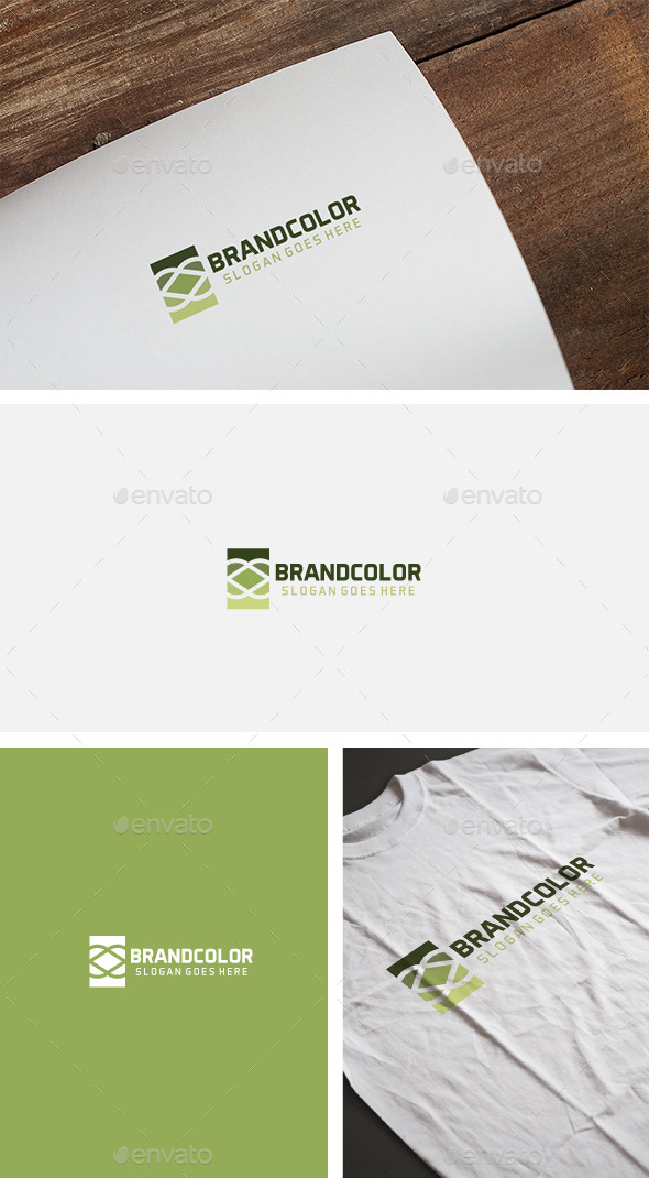 Colorful Brand Logo