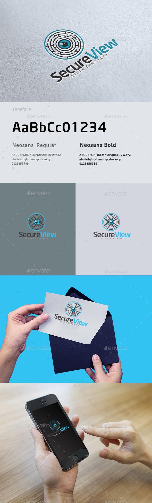 Secure Vision Logo - Symbols Logo Templates