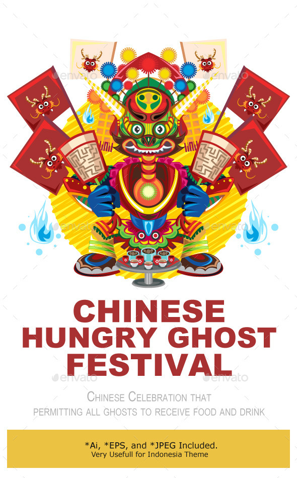 Hungry Ghost Day Festival - Seasons/Holidays Conceptual