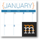Monthly Planner 2016  - GraphicRiver Item for Sale
