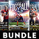 Footbal Game Flyers Bundle - GraphicRiver Item for Sale