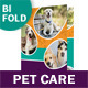 Pet Care Bifold / Halffold Brochure - GraphicRiver Item for Sale