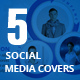 Social Media Covers Kit - GraphicRiver Item for Sale