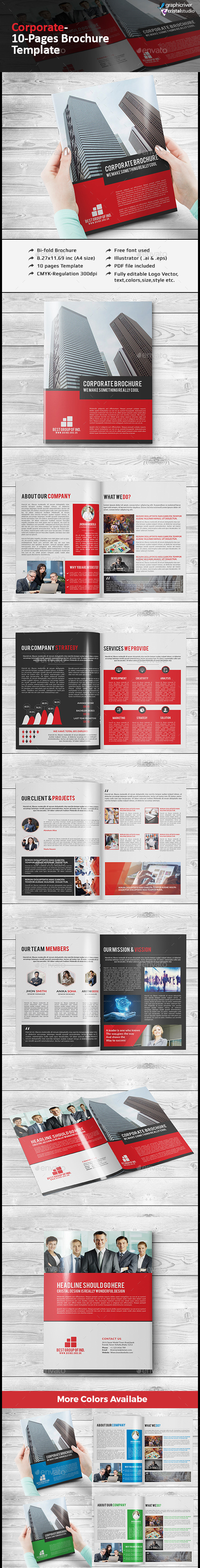 Corporate Multipurpose Brochure
