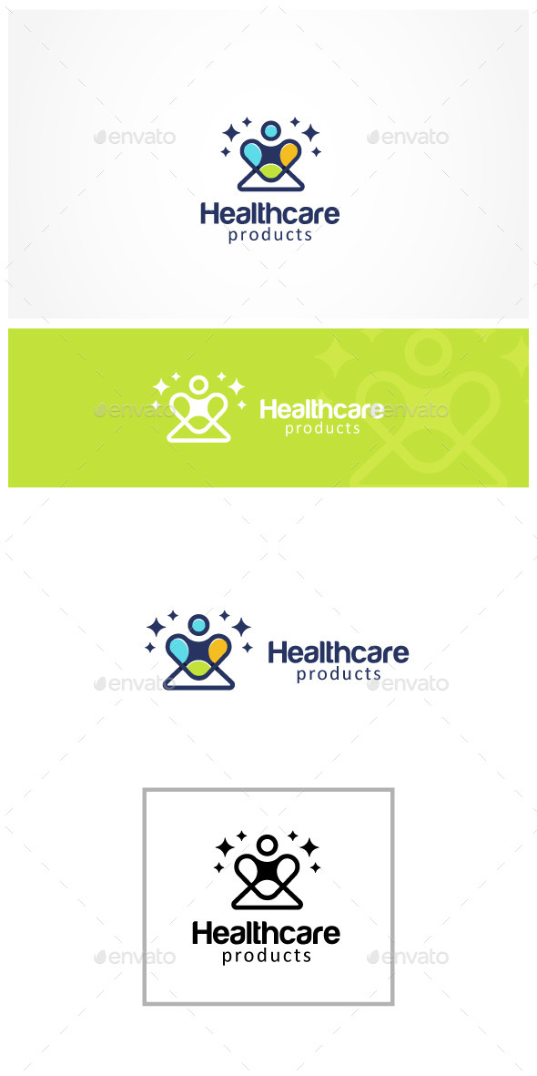 Healthcare Logo - Humans Logo Templates