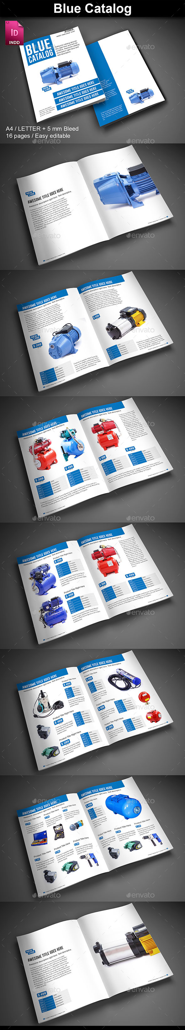 Blue Catalog - Catalogs Brochures
