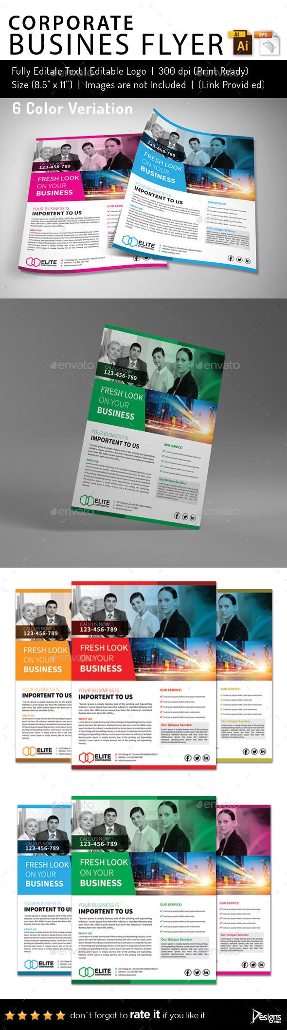 Multipurpose Business Flyer 54 - Corporate Flyers