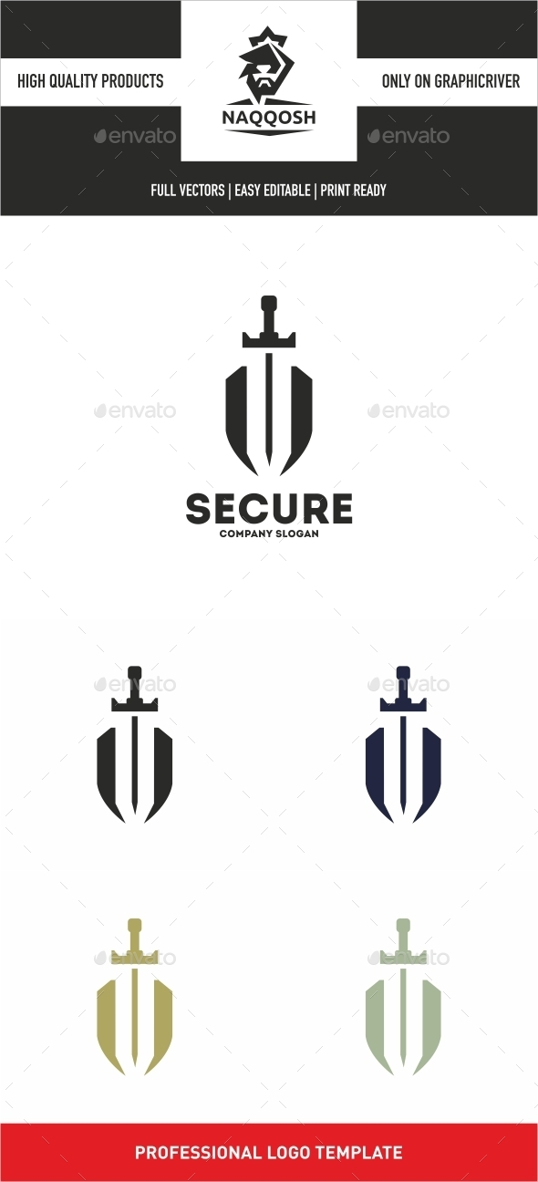 Secure - Symbols Logo Templates