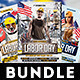 Labor Day Flyers Bundle - GraphicRiver Item for Sale