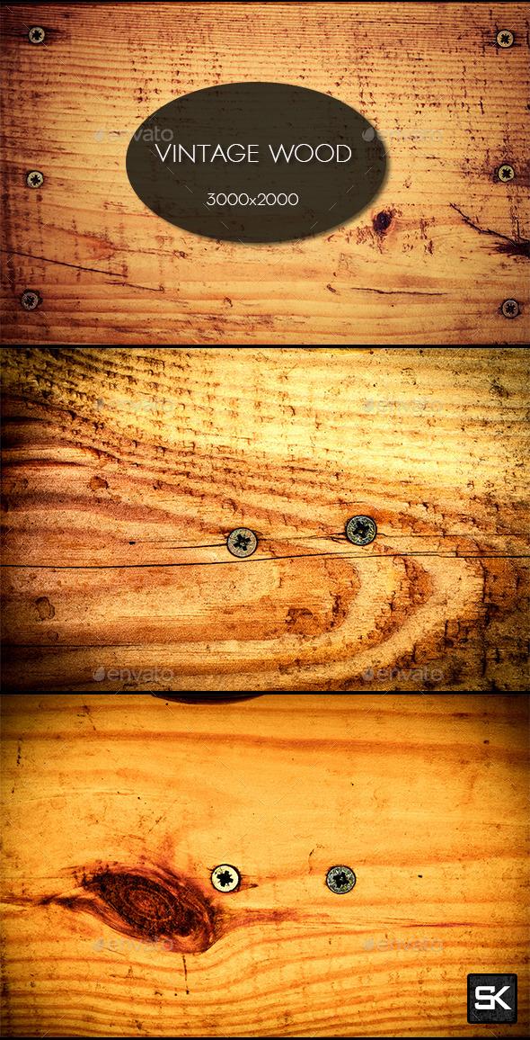 Vintage Wood.8 - Wood Textures